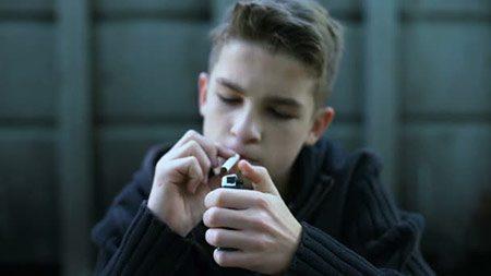 نحوه برخورد با نوجوان سیگاری, با