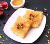 شیرینی کنافه (کونفی)؛ این دسر پنیری ترکی!