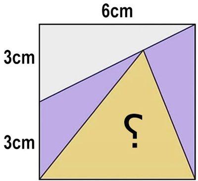 معمای مساحت مثلث مجهول را بیابید, سرگرمی