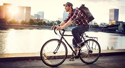 دوچرخه سواری و فواید آن, ورزش