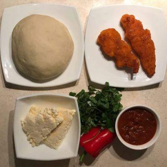 پیتزا مرغ سوخاری