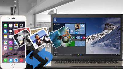 انتقال عکس های آیفون , انتقال از آیفون به کامپیوتر