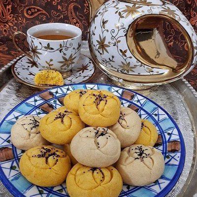 طرز تهیه شیرینی آب دندون، شیرینی سنتی مازندران, کیک