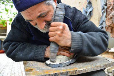کفش چرمی روستای چرمه, صنایع دستی