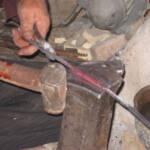 انبرسازی صنایع دستی استان یزد