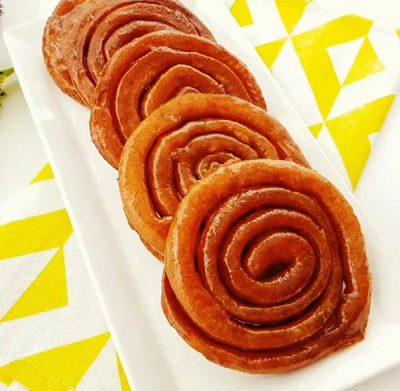 طرز تهیه بامیه دارچینی ترکی, کیک