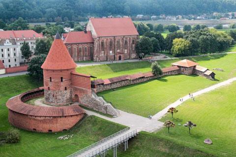لیتوانی,سفر به لیتوانی,قلعهی کایوناس