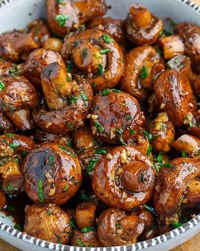 طرز تهیه قارچ کاراملی, آشپزی با مرغ