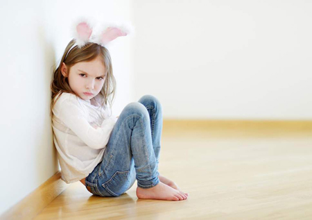 خودمحوری کودک و نحوهی رفتار با او, بچه