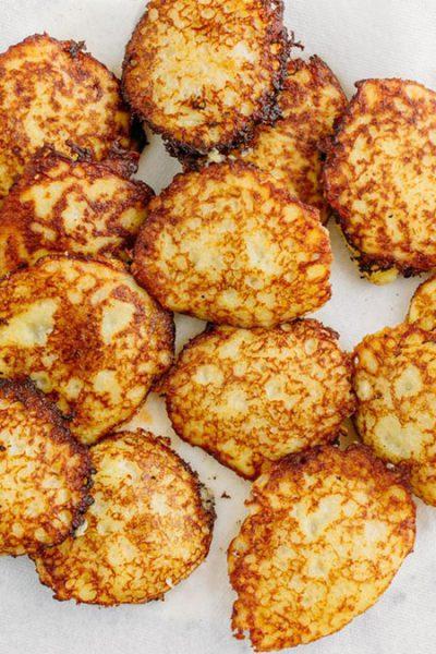 پنکیک سیبزمینی مغزدار با گوشت (درانیکی), پخت و پز