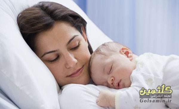 آغوز ، اولین غذای نوزاد, فرزندان