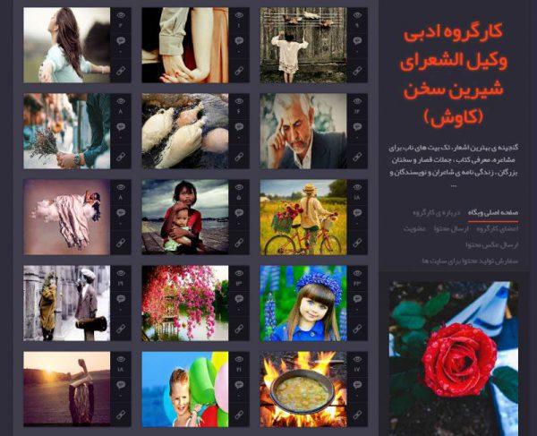 کارگروه ادبی وکیل الشعرا - وبلاگ ادبی برتر,