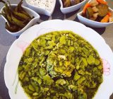 غذاهای محلی گیلان - باقالا قاتق