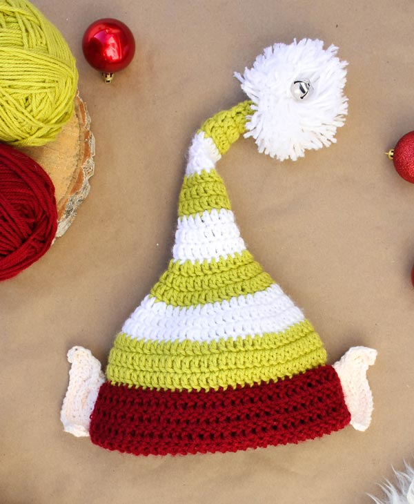 عکس کلاه بافتنی جوکری کریسمس