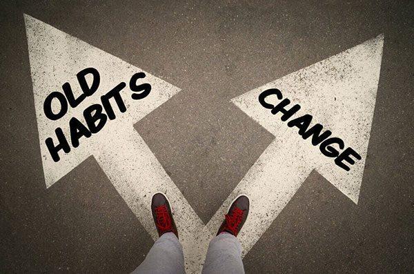 عنوان: چطور عادتهای بدمان را ترک کنیم؟