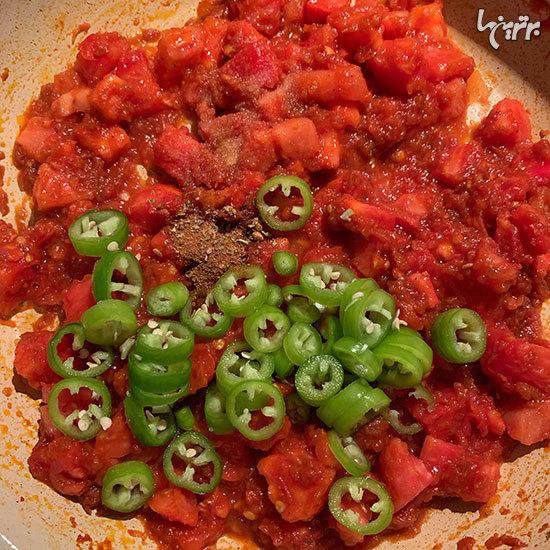 خوراک چیلی و لوبیا سیاه با ترتیلا محشر میشه!