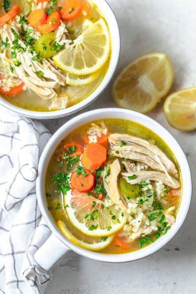 طرز تهیه سوپ جوجه لیمویی, آشپزی