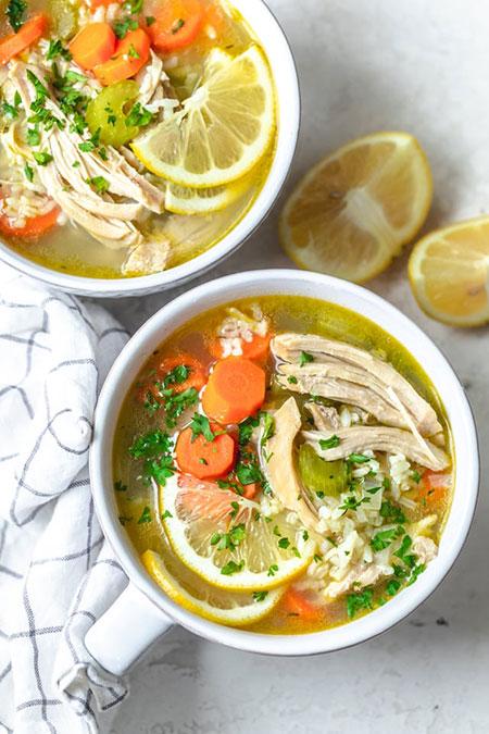 سوپ جوجه لیمویی؛ تو این سرما میچسبه