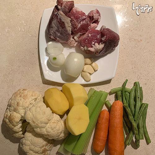 خوراک گوشت و سبزیجات؛ به استقبال زمستان بروید!