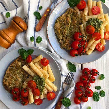 طرز تهیه مرغ با طعم پستو؛ پاستاهایتان را استثنائی کنید!