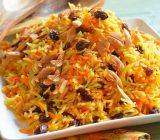 هویج پلو، سادهترین پلوی مخلوط و شیرین