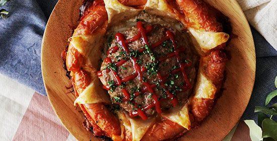 پای همبرگر و سوسیس