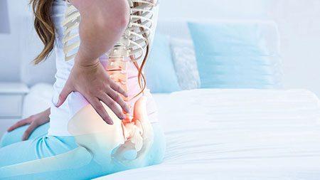 درمان درد لگن با ورزش