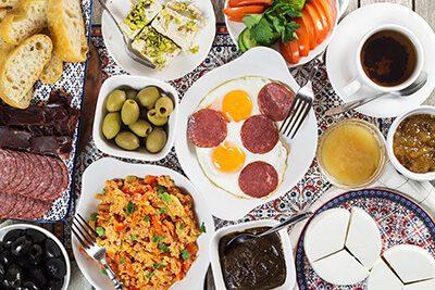 بهترین صبحانه ترکی، از خاص ترین صبحانه ها در دنیا جدید