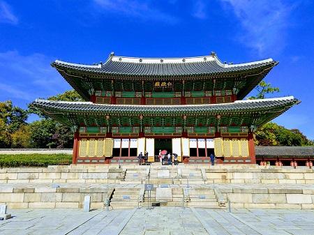 تصاویر جاهای دیدنی کره جنوبی,مکان های دیدنی کره جنوبی,کاخ چانگ دیوک گونگ