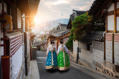 عکس جاهای دیدنی کره جنوبی,نقاط دیدنی کره جنوبی,روستای هانوک