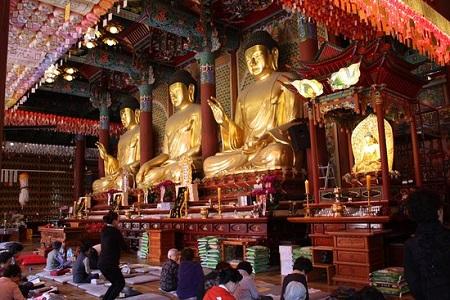 تصاویر جاهای دیدنی کره جنوبی,مکان های دیدنی کره جنوبی,معبد جوگیه-سا